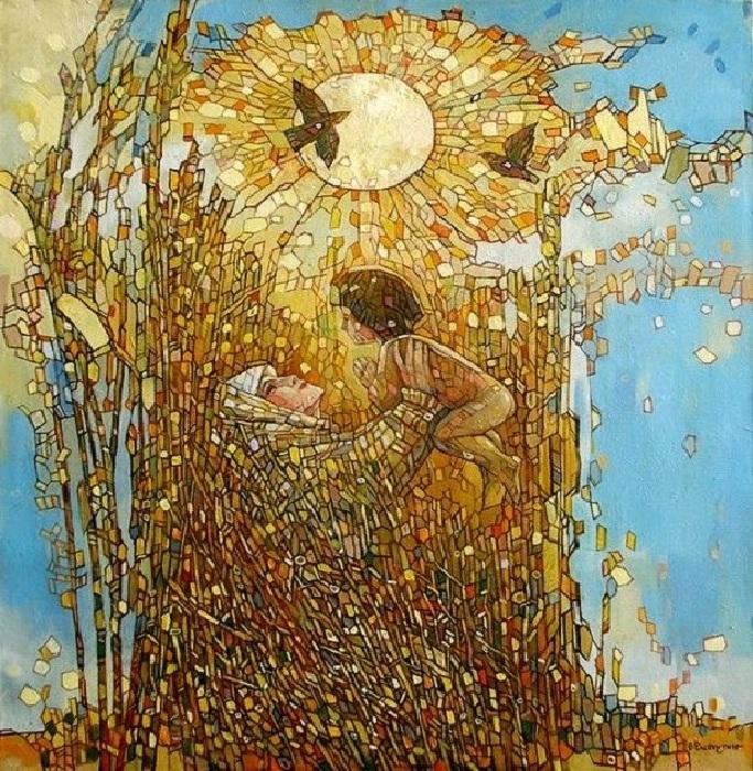 Материнская любовь. Автор: Владимир Распутин.