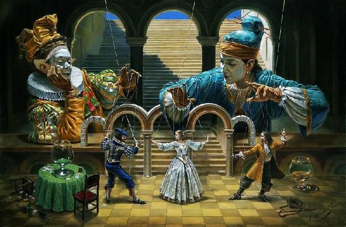 Театр абсурда Майкла Шеваля.