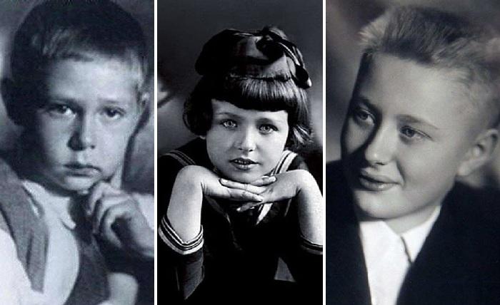 Фото из домашних архивов звёзд советского кино