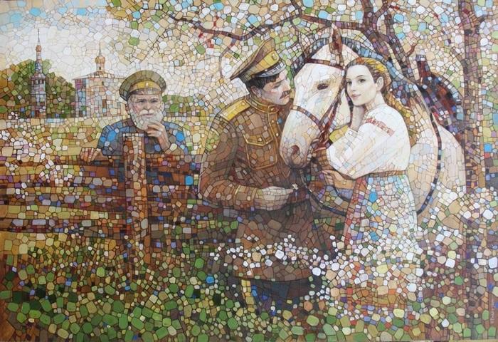 Живопись от Владимира Распутина.