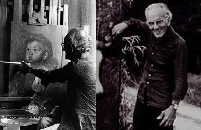 Бруно Амадио ( Джованни Браголин) - итальянский Ñудожник. (1911-1981).