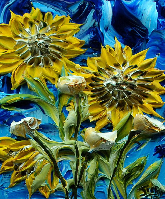 Картины-скульптуры от Джастина Геффри.