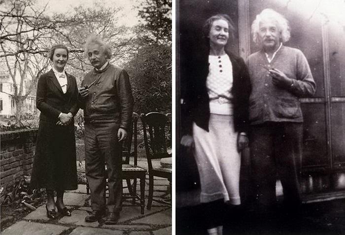 Маргарита Коненкова и Альберт Энштейн.