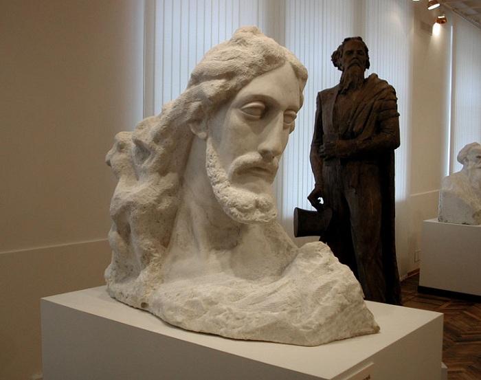 Скульптуры Сергея Коненкова.