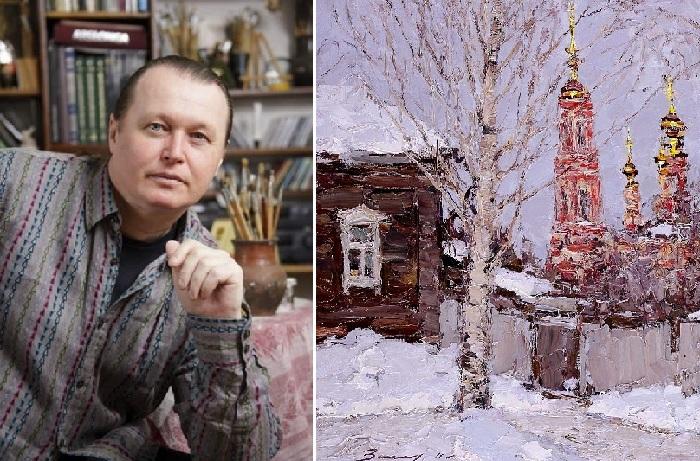 Андрей Аркадьевич Захаров - художник-пейзажист, импрессионист.