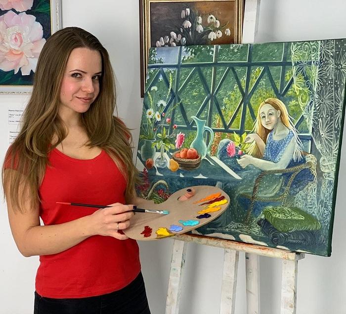 Надежда Ильина - современная художница.