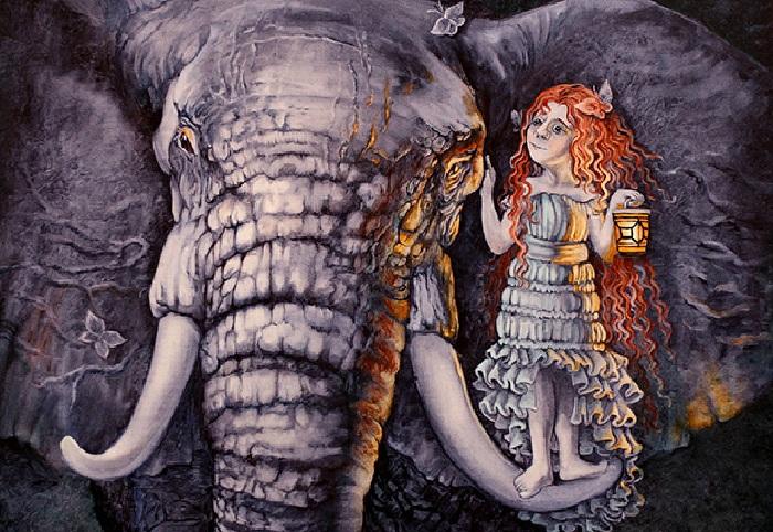 В созвездии слона. Фэнтези от Надежды Ильиной.