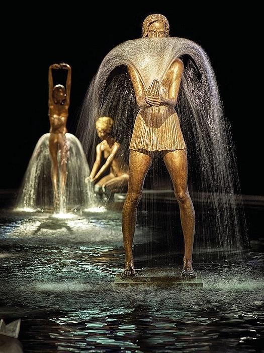 Удивительный мир фонтанов от скульптора Mal'gorzatи Khodakovskоy.