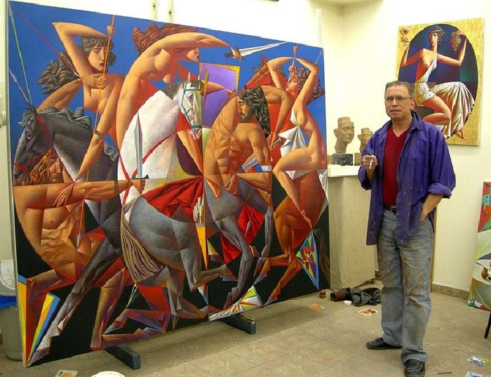 Георгий Курасов (Georgy Kurasov) - современный русский художник-кубист.