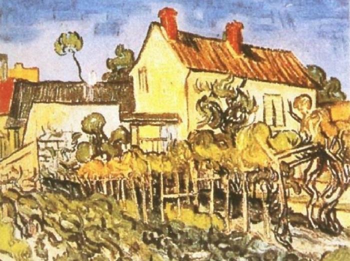 Дом Пер Элуа.Автор: Ван Гог.