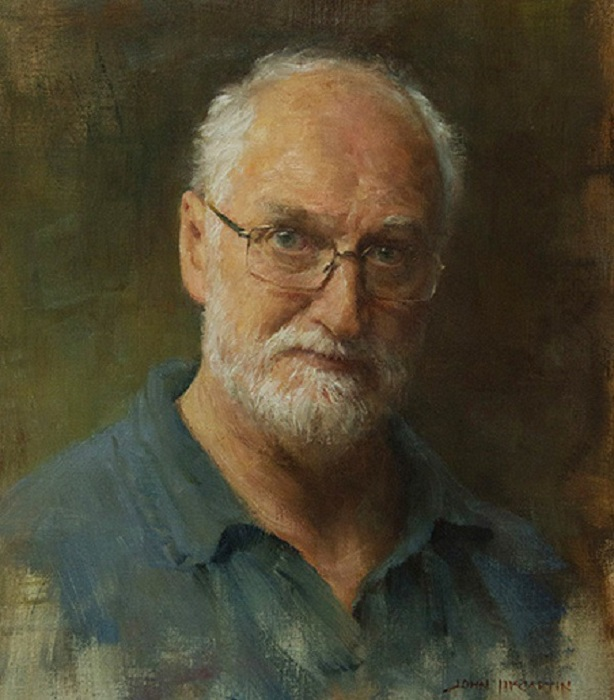 Автопортрет Джона Маккартина.