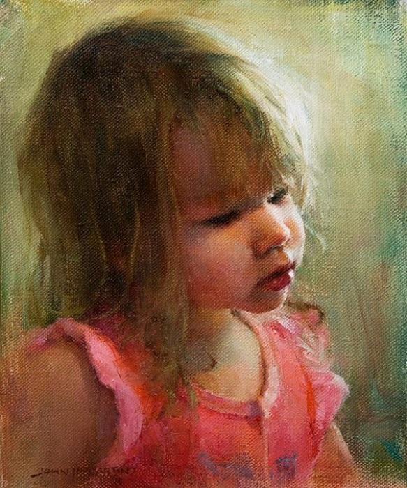 Детские портреты Джона Маккартина.
