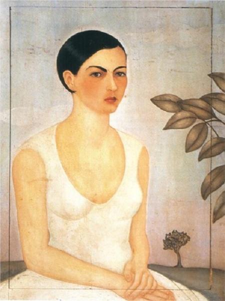 .Портрет Кристины. (1928). Автор: Фрида Кало.