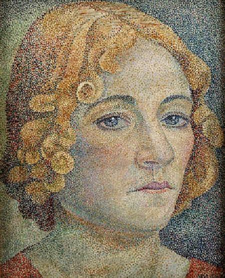 Мария Воробьёва-Стебельская (Маревна). Автопортрет. (1929)