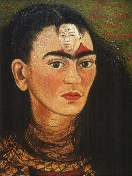 Фрида Кало. Автопортрет.