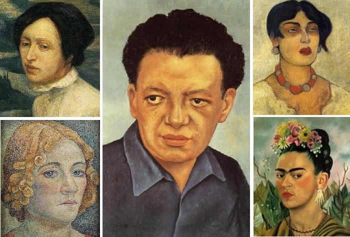 Жены и любовницы известного художника-муралиста Диего Риверы.