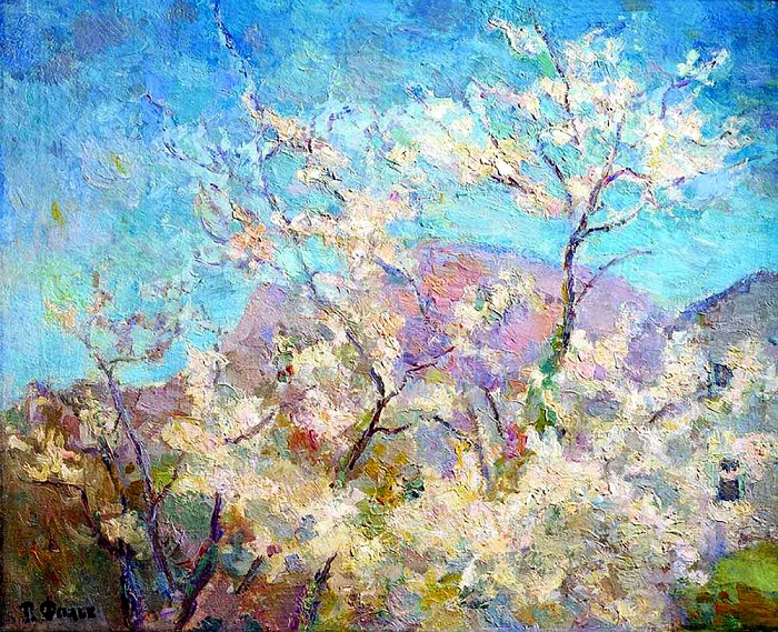 «Весна в Крыму». (1938). Автор: Роберт Рафаилович Фальк.