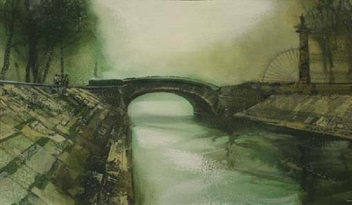 Лебяжий мост. Автор: Сергей Сиделев.