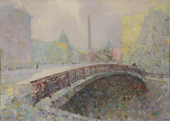 Певческий мост. Автор: Сергей Сиделев.