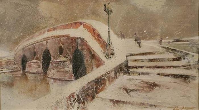 Прачечный мост. Автор: Сергей Сиделев.