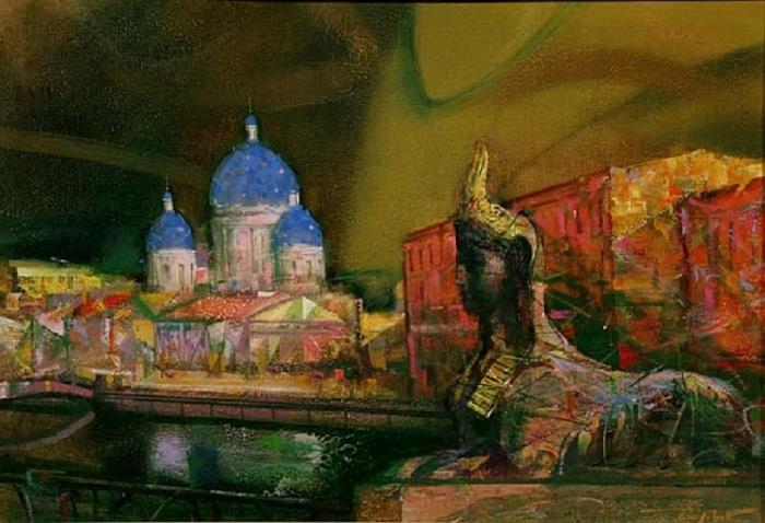 Египетский мост. Автор: Сергей Сиделев.