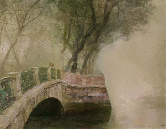 Инженерный мост. Автор: Сергей Сиделев.