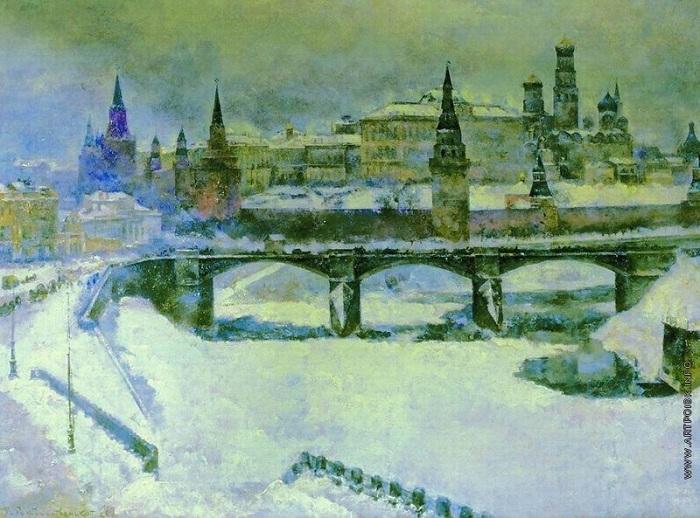 Старый Каменный мост. Москва. Автор: В.В. Рождественский.