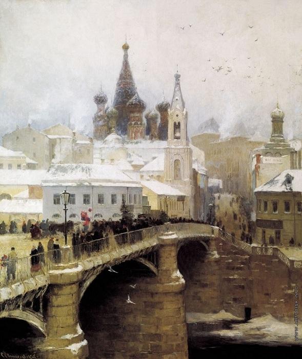 Москворецкий мост. Автор: Светославский С. И.