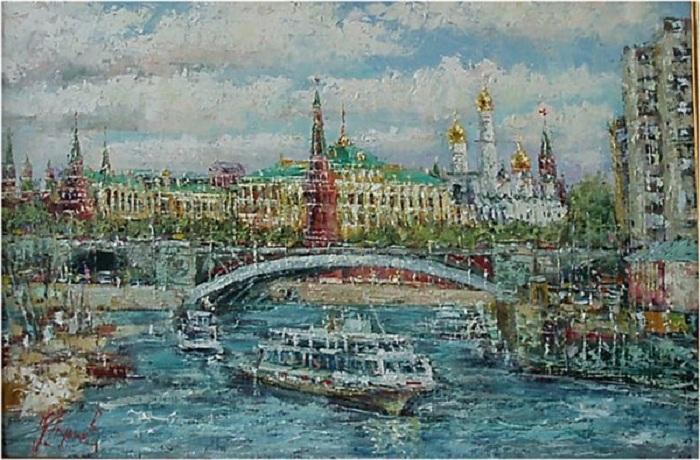 Каменный мост. Автор: Юнис Еникеев