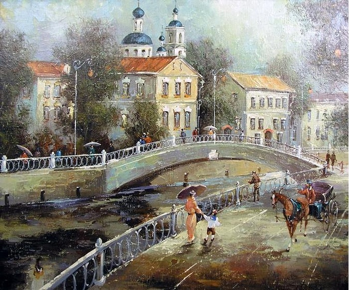 Москва. Немецкая слобода. Автор: Сергей Боев.