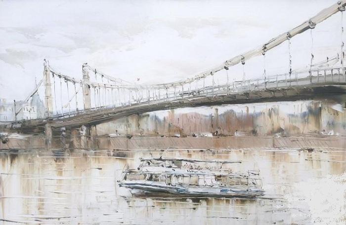 Крымский мост. Автор: Бойко Евгений.