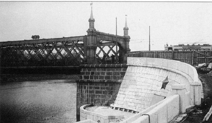 Крымский мост до 1938 года. Фото.
