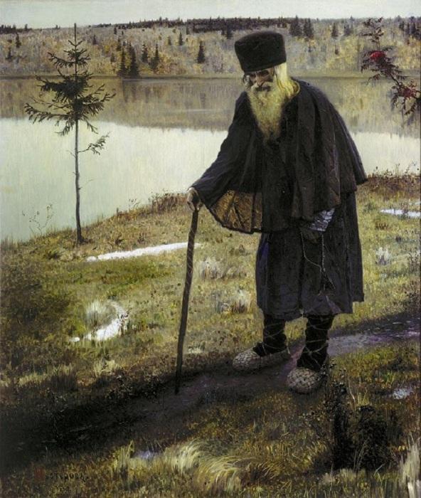 Михаил Нестеров - «Пустынник», 1888
