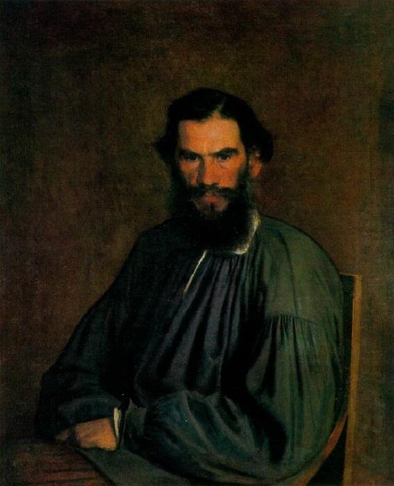 Иван Крамской «Портрет Л.Н. Толстого», 1873