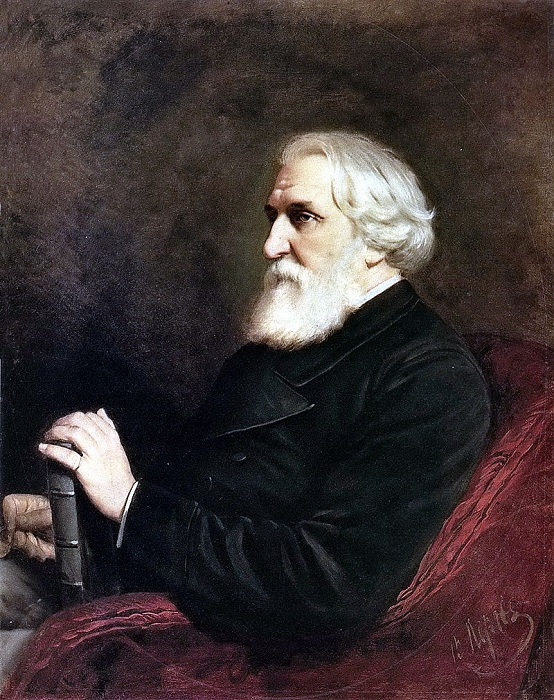 Портрет писателя Ивана Сергеевича Тургенева. (1872). Государственный Русский музей. Автор: В.Перов.