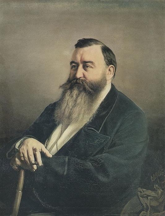 Портрет профессора Ф. Ф. Резанова. (1868). Третьяковская галерея. Автор: В.Перов.