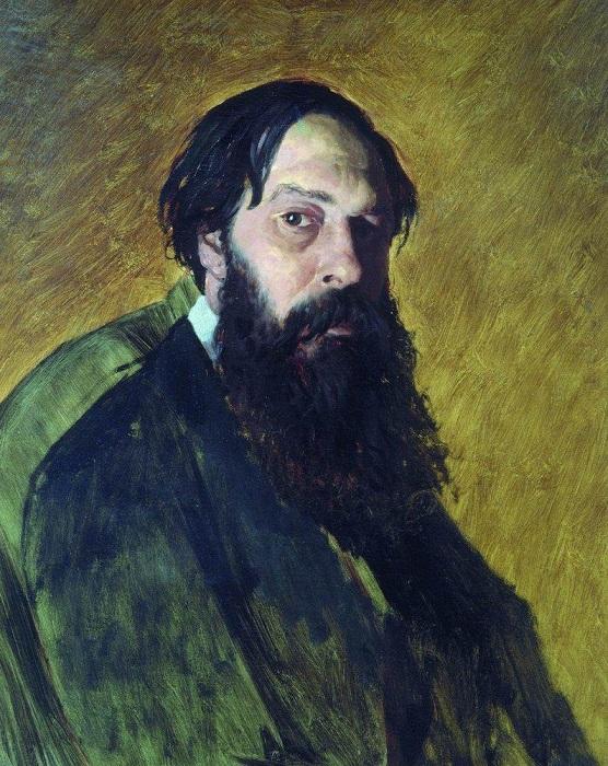 Портрет художника Алексея Кондратьевича Саврасов. (1878).  Третьяковская галерея. Автор: В.Перов.