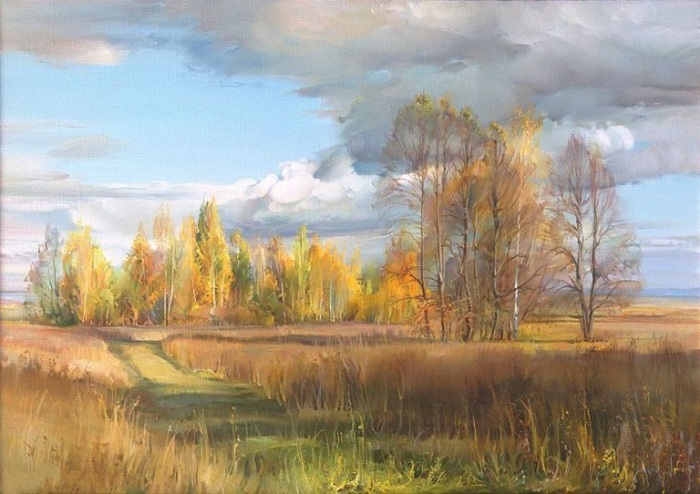 Осень золотая. Автор: Роман Романов.