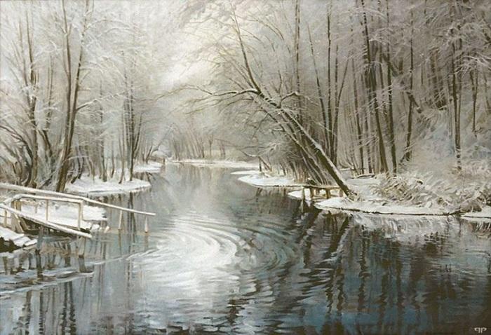 Озеро Голубое. Автор: Роман Романов.