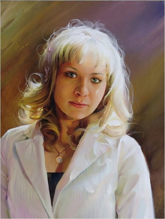 Алина. Портреты от Романа Романова.