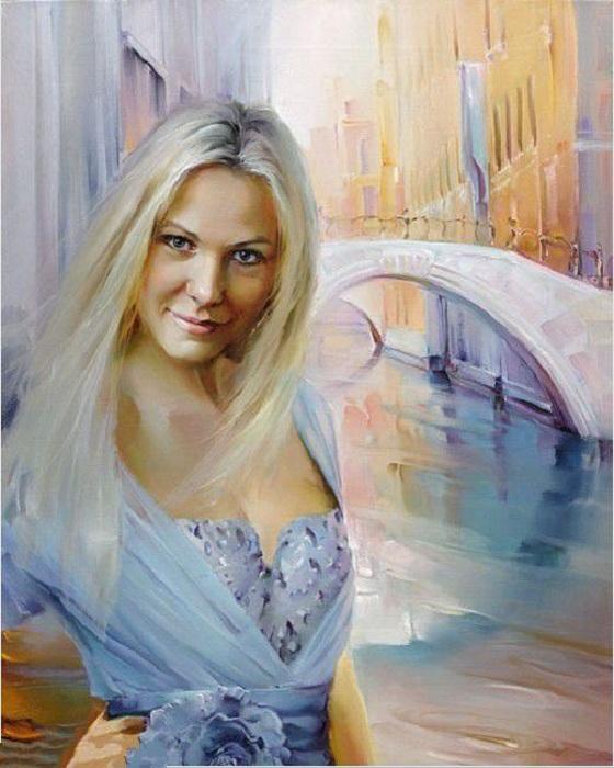 Венеция. Портреты от Романа Романова.