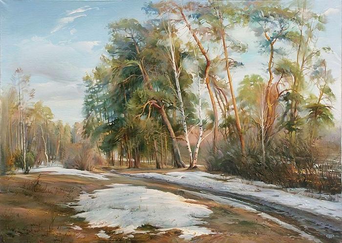 Весна. Автор: Роман Романов.