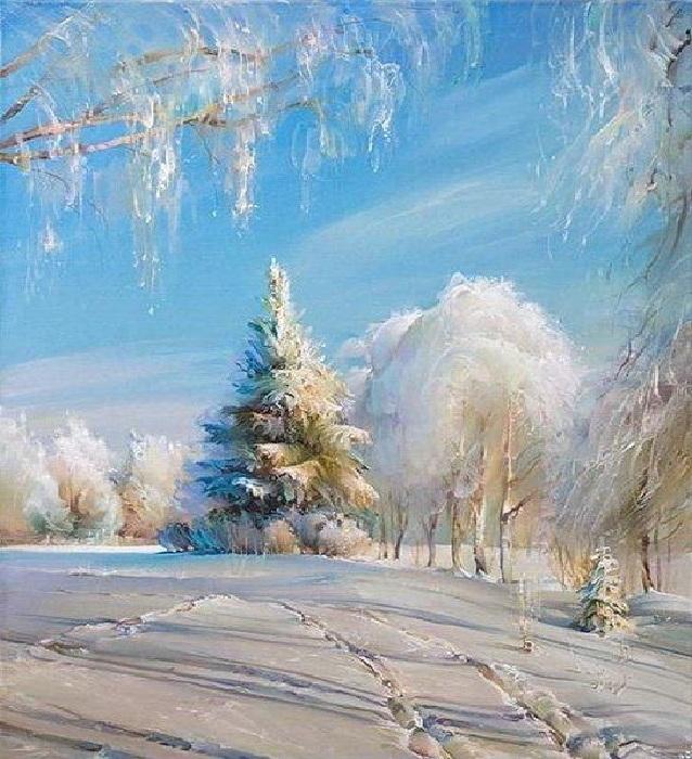 Зима. Автор: Роман Романов.