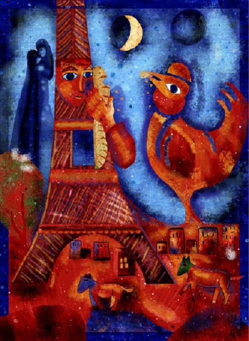 Авангардизм Марка Шагала.