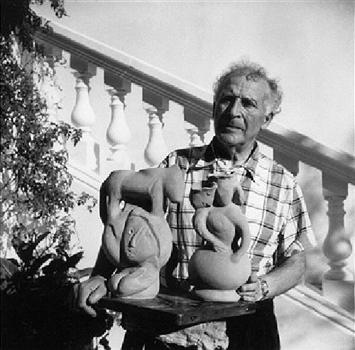 Художник, скульптор, керамист - Марк Шагал.