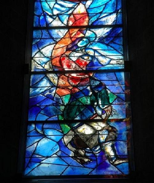 Витражи Марка Шагала.
