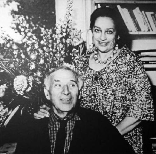 Марк Шагал с Валентиной.