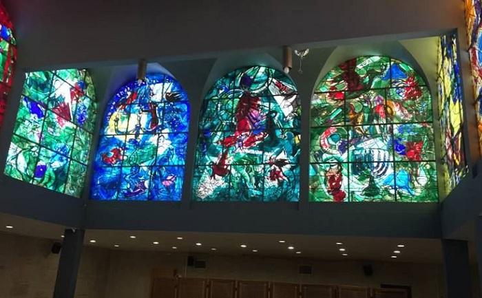 Иерусалим. Эйн-Карем. Витражи Марка Шагала.