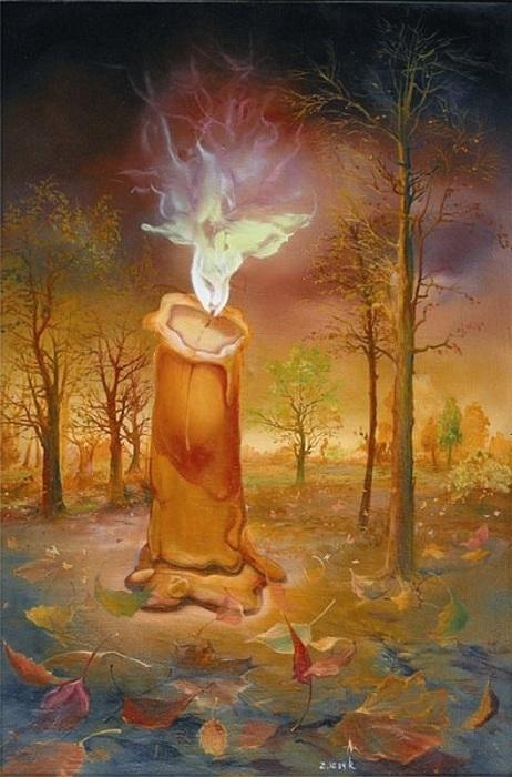 «Памятник бабочке». Картины-размышления от Романа Величко.