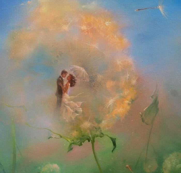 Картины-размышления от Романа Величко.